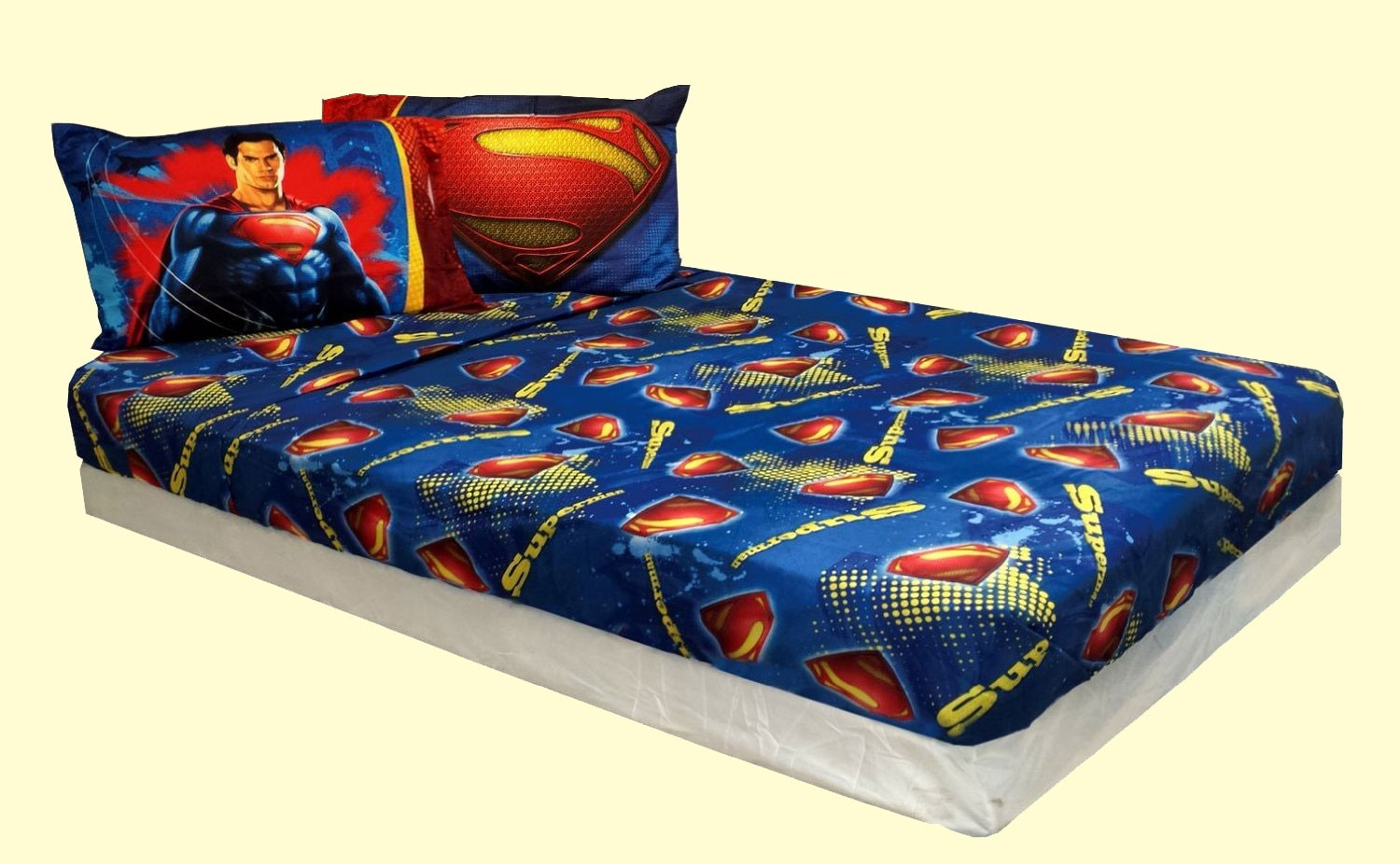 imported blankets > disney comforter sets > man of steel comforter