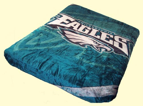 Imported Blankets QueenKing NFL Blankets Queen NFL Eagles Mink New Eagles Throw Blanket