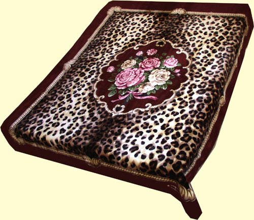 Imported Blankets Gt Solaron Two Ply Mink Blankets Gt Solaron Two Ply Leopard Floral Mink Blanket