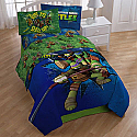 Twin TMNT 4PC Bedding/Comforter Set