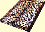 Trix Heavyweight Tiger Stripes Mink Blanket