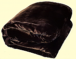 Wonu Luxury King Two-Ply Solid Mink Blanket