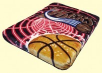 Twin NBA 76ers Mink Blanket