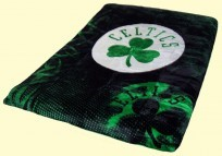 Twin Boston Celtics Royal Plush Blanket
