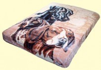 Luxury Queen Dog Collage Mink Blanket