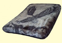 Solaron Eagle Queen Mink Blanket
