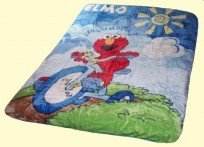 Twin Elmo Bike Mink Blanket