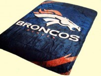 Queen NFL Denver Broncos Mink Blanket