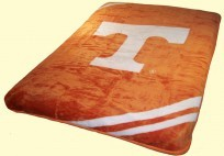 Twin NCAA Tennessee Mink Blanket