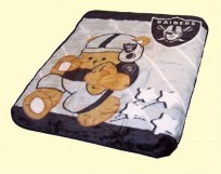 Baby NFL Raiders Blanket
