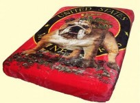 Luxury Queen Bull Dog Mink Blanket