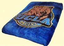 Twin UCLA Bruins Mink Blanket
