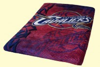 Twin Cleveland Cavaliers Mink Blanket