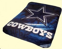 King NFL Cowboys Mink Blanket