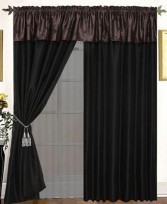 Harmonee 4PC Curtain Set Purple