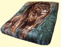 Solaron King Lion Mink Blanket
