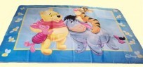 Royal Plush Pooh and Friends Area Rug