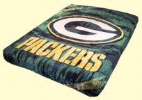 Queen NFL Packers Royal Plush Mink Blanket