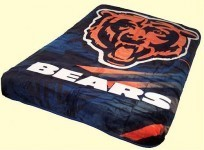 Queen NFL Bears Mink Blanket