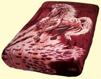 Solaron Queen Stallion Mink Blanket