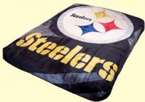 Queen NFL Steelers Mink Blanket