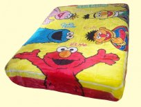 Luxury Twin Sesame Street Pals Mink Blanket