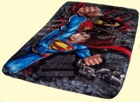 Twin Superman Fierce Mink Blanket