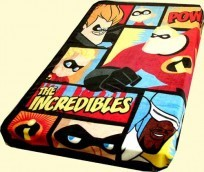 Twin/Full Incredibles Mink Blanket