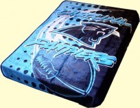 Twin NFL Panthers Mink Blanket