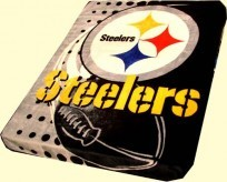 Twin NFL Steelers Mink Blanket