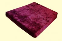 Solaron Twin/Full Solid Burgundy Mink Blanket
