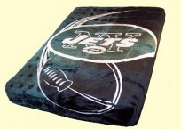 Twin NFL Jets Mink Blanket
