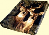 Solaron King Buck and Doe Mink Blanket