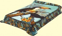 King Solaron Toucans Mink Blanket