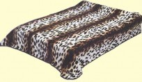 Original Korean Solaron Two-Ply Queen Cheetah Mink Blanket