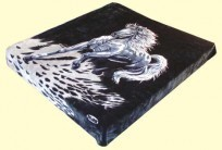 Queen Solaron Stallion Mink Blanket