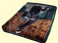 Solaron King Panther Mink Blanket