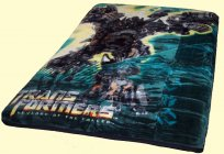Twin Transformers Royal Plush Blanket
