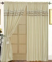 Vivian 4PC Curtain Set