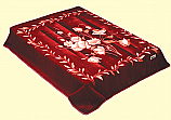 Wonu Safari King Two-Ply Crinum Mink Blanket