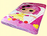 Twin LalaLoopsy Royal Plush Blanket