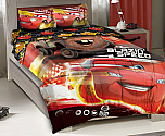 Disney Cars Twin Bedding 3PC Comforter Set
