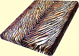 Wonu Trix Heavyweight Tiger Stripes Mink Blanket