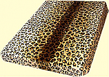 King Safari Leopard Mink Blanket
