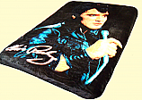 Twin Elvis Royal Plush Blanket