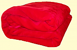 Solaron Twin/Full Ruby Red Mink Blanket
