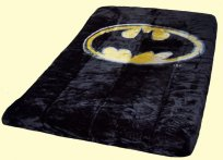 Luxury Queen Batman Logo Mink Blanket