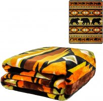 Signature Queen Native American Mink Blanket