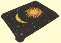 Solaron Sun and Moon Mink Blanket