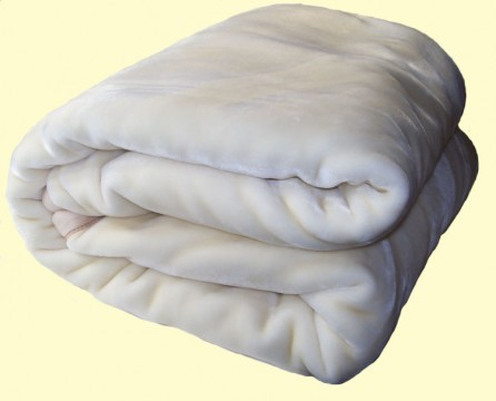 Two-Ply Ivory Blanket